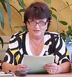 О поиске новых направлений в методической работе рассказывает директор школы № 5 Л. М. Данилович.